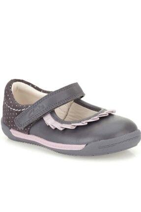 CLARKS Kız Çocuk 0-2 Yaş Ayakkabı Ortopedik 18-24 2