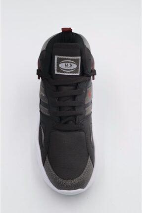 MP Spor Basketbol Ayakkabısı Siyah Bordo Kalın Taban Bilek Boy Orjinal Ayakkabı 2