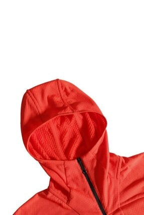 The North Face Erkek  Summit L2 Fleece Kapüşonlu Sweatshirt Kırmızı 2
