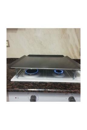 Has Xx-35 Irlı Ocak Üstü Kare Düz Sac Ekmek Yufka Bazlama Köfte Pişirme Sacı Kulpsuz 50504 3