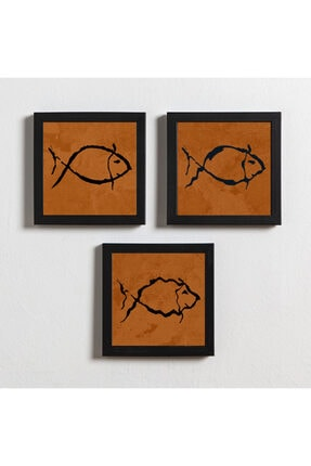 Artistic Frames Turuncu Balık 0