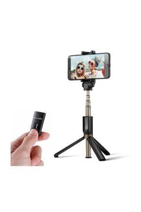OKMORE Selfie Stick L01 Bluetooth Selfie Çubuğu Tripod,monopod 0