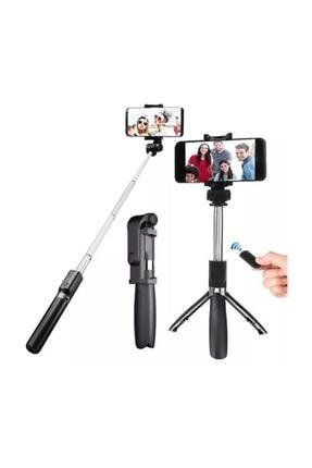 OKMORE Selfie Stick L01 Bluetooth Selfie Çubuğu Tripod,monopod 1