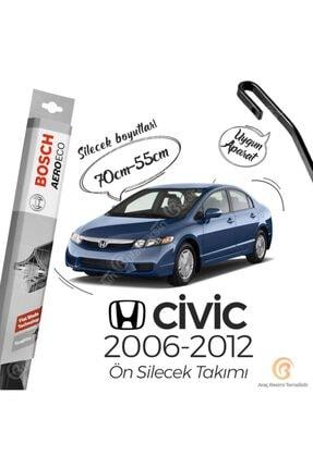 Bosch Aeroeco Honda Civic Fd6 2006 - 2012 Ön Muz Silecek Takımı 0