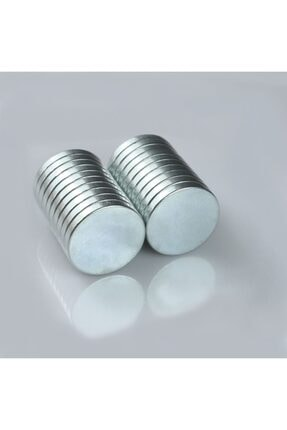 Kargolat Yuvarlak Neodyum 8x3mm Mıknatıs 20 Adet 2
