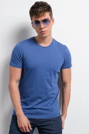 Rodi Jeans Rodi Rd19ye279975 Indigo Erkek Flamlı Süprem Bis.yaka T-shirt 2