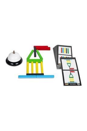 BEMİ Game Bars - Mantık Eğitici Zeka Strateji Çocuk Ve Aile Oyunu - Lüks Doğal Ahşap Kutu Oyunu 3