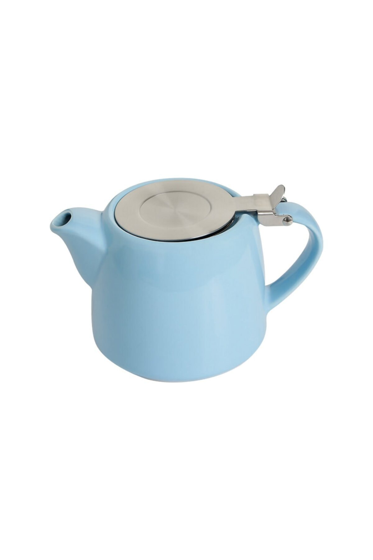 Porland Süzgeçli Stoneware Demlik 600 Cc. - Mavi