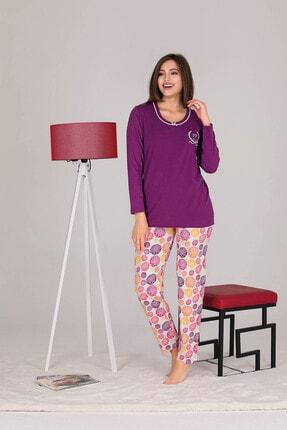Penyelux Mor Altı Desenli Pijama Takımı 1