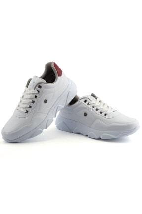L.A Polo Erkek Beyaz Taban Spor Ayakkabı 019 2