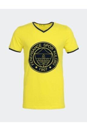 Fenerbahçe Erkek Trıbun Flok Logo Tshırt 0