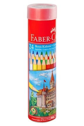 Faber Castell Faber Castel Kuru Boya 24 Renk Metal Tüpte 0