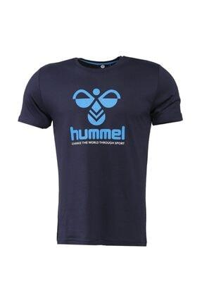 HUMMEL HMLCENTIL T-SHIRT S/S Lacivert Erkek T-Shirt 101086298 0