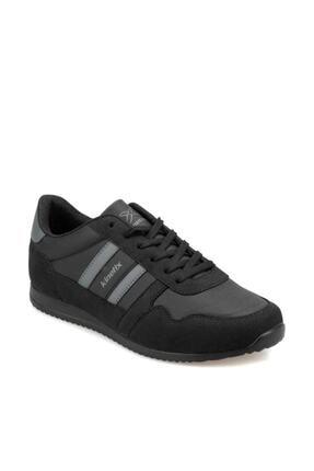 Kinetix Erkek Siyah Bağcıklı Sneaker 000000000100429934 Carter Pu 0