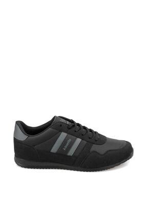 Kinetix Erkek Siyah Bağcıklı Sneaker 000000000100429934 Carter Pu 1
