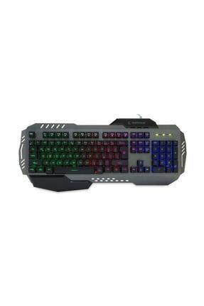 Everest Rampage Gökkuşağı Aydınlatmalı Multimedya Gaming Klavye KB-R74 1