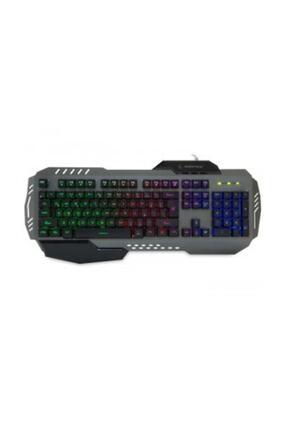 Everest Rampage Gökkuşağı Aydınlatmalı Multimedya Gaming Klavye KB-R74 2