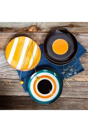 Juliette Ceramics Mango 6'lı Pasta Tabağı 1