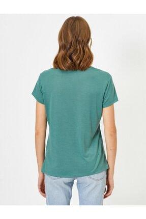 Koton Kadın Pembe T-shirt 1