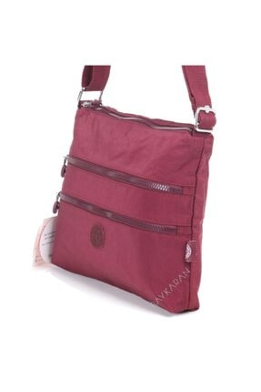 Smart Bags 1185 Postacı Kadın Çantası Bordo 4