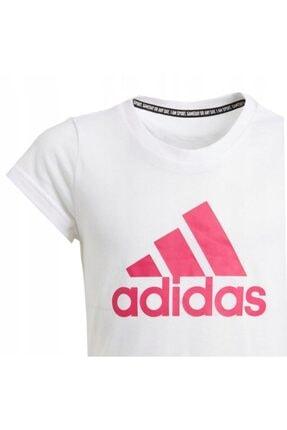 adidas YG MH BOS Beyaz Unisex Çocuk T-Shirt 100524748 2