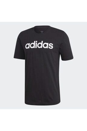 adidas E LIN TEE.. Siyah Erkek T-Shirt 100403534 2