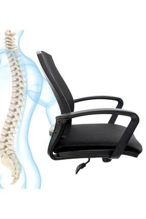 GREY Ev Ofis Çalışma Sandalyesi Bilgisayar Koltuğu 3