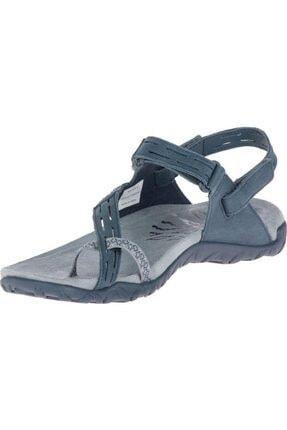 Merrell J98746 Terran Convert 2 Slate Kadın Sandalet 2