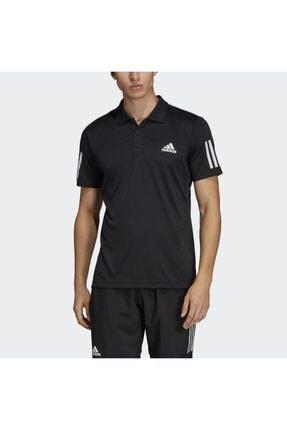 adidas CLUB 3STR POLO..-- Siyah Erkek T-Shirt 100403538 0
