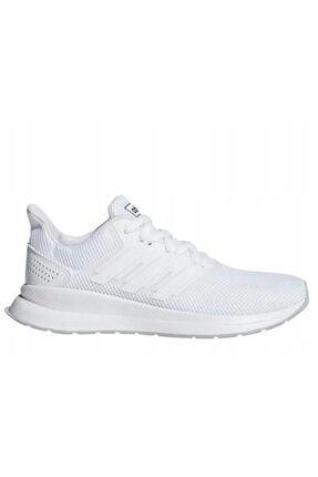 adidas Runfalcon Beyaz Kadın Koşu Ayakkabısı 0