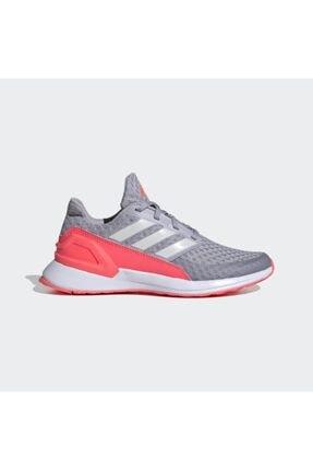 adidas Kadın Gri - Pembe Rapidarun Ayakkabı Antrenman Ayakkabısı 0