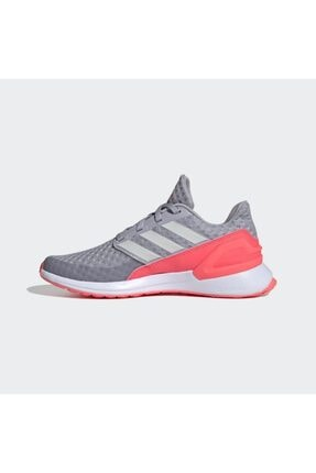 adidas Kadın Gri - Pembe Rapidarun Ayakkabı Antrenman Ayakkabısı 1