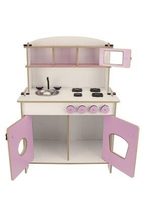 WoodyLife Çocuk Oyuncak Mutfak Seti Montessori Kız Evcilik Oyuncak 2