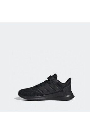 adidas RUNFALCON C Siyah Erkek Çocuk Koşu Ayakkabısı 100663755 2