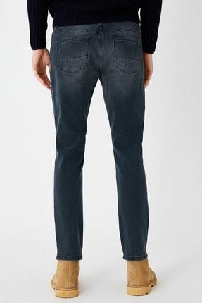 Koton Erkek Indigo Stone Jeans 1KAM43742LDFA6 3