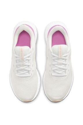 Nike Revolution 5 Kadın Beyaz Koşu Ayakkabısı Bq3207-103 4