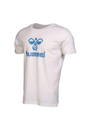 HUMMEL Rob Kısa Kollu Beyaz Tişört 0