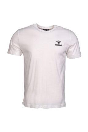HUMMEL Keaton Beyaz Kısa Kollu T-Shirt 4