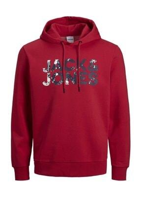 Jack & Jones Jjsplash Kapüşonlu Sweatshirt 12177936 0