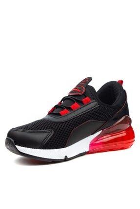 Papuçcity Lafonten Siyah-kırmızı Erkek Çocuk Spor Ayakkabı 1