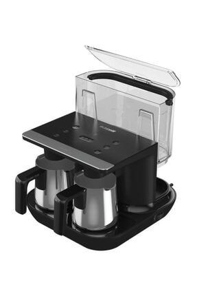 Arçelik Tkm 9961 S Siyah Çelik Ikili Türk Kahve Makinesi 2