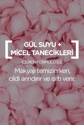 Garnier Micellar Gül Suyu Kusursuz Makyaj Temizleme & Işıltı 400 Ml 3600542326858 2
