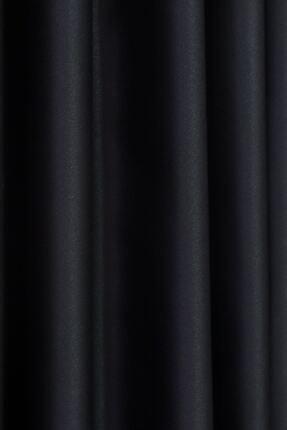 Brillant Siyah Petek Dokulu Fon Perde 150x260 1