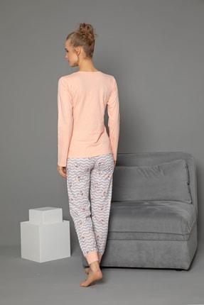 Strawberry Pamuklu Uzun Kol Pijama Takımı 2