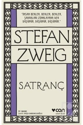 Can Yayınları -satranç-stefan Zweig 0