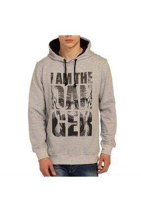 Bant Giyim - Breaking Bad Gri Kapüşonlu Erkek Sweatshirt Hoodie 0
