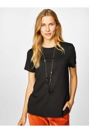 Faik Sönmez Kadın Yuvarlak Yaka Kısa Kol T-shirt 2