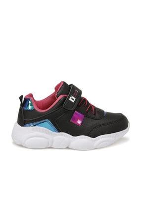 Icool MOSHI Siyah Kız Çocuk Yürüyüş Ayakkabısı 100564516 1