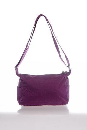 Smart Bags Kadın Mor Postacı Çantası 2