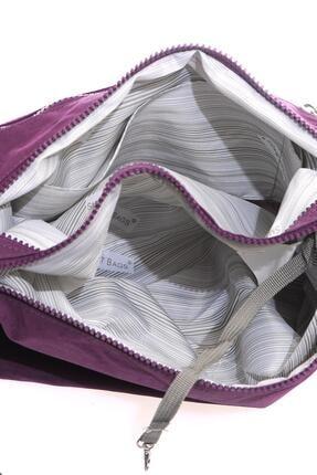 Smart Bags Kadın Mor Postacı Çantası 3